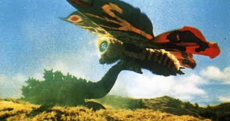 Mosura vs Godzilla